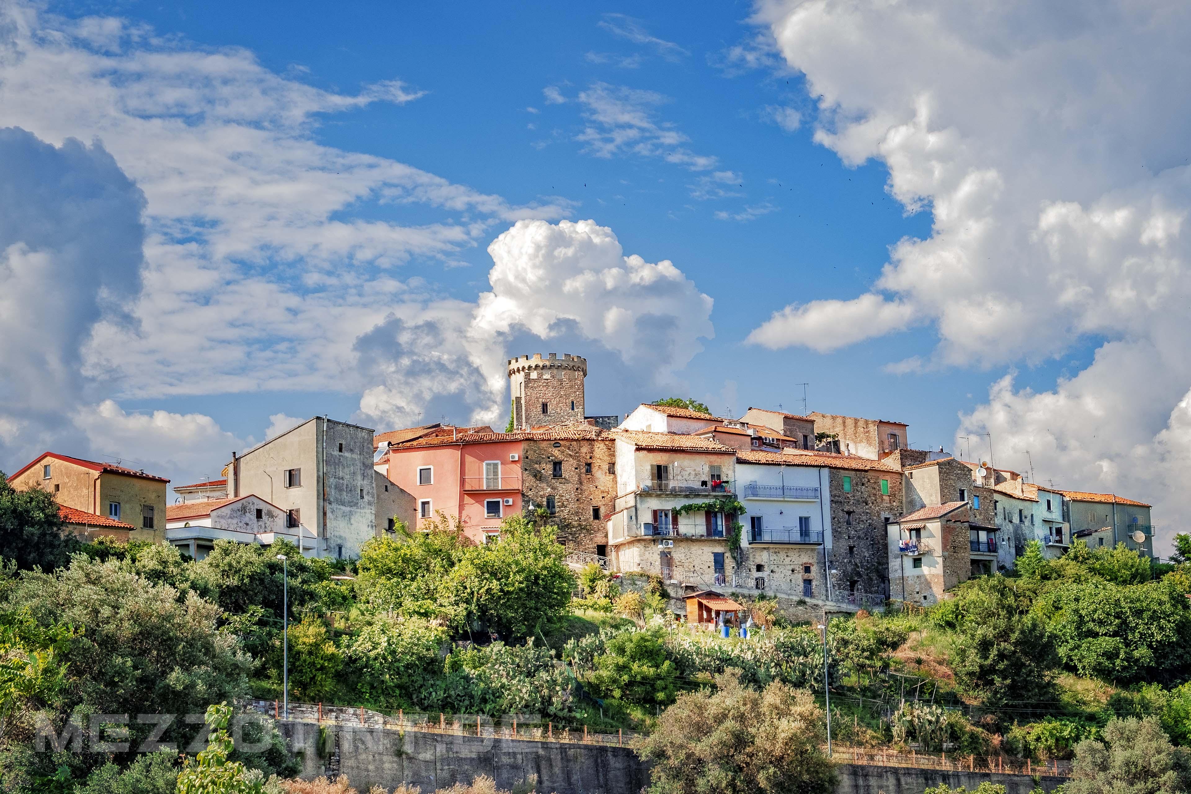Castelnuovo at national park Cilento